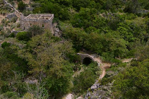 Wassermühlen Mylopotamos